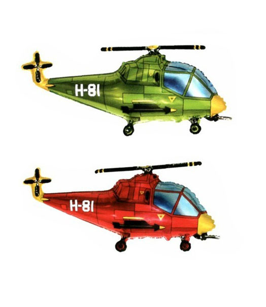 Фольгированный Вертолет