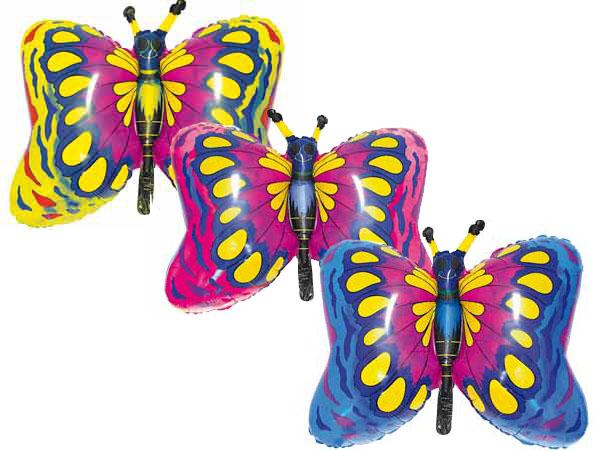 Бабочки разноцветные